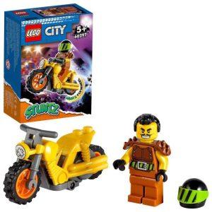 LEGO City 60297 Kaskadérska demoličná motorka