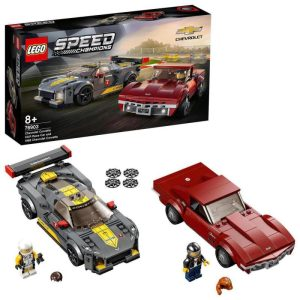 LEGO Speed Champions 76903 Chevrolet Corvette C8.R a 1968 Chevrolet Corvette